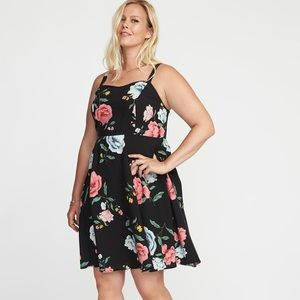 Old navy floral dress 4x NWT